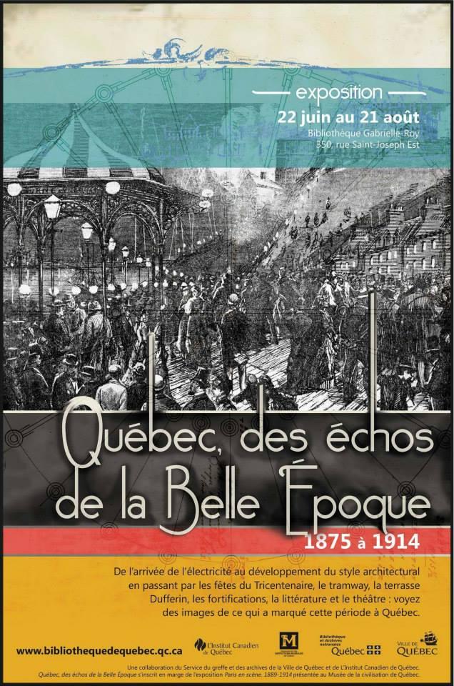Quebec-des-echos de la belle epoque